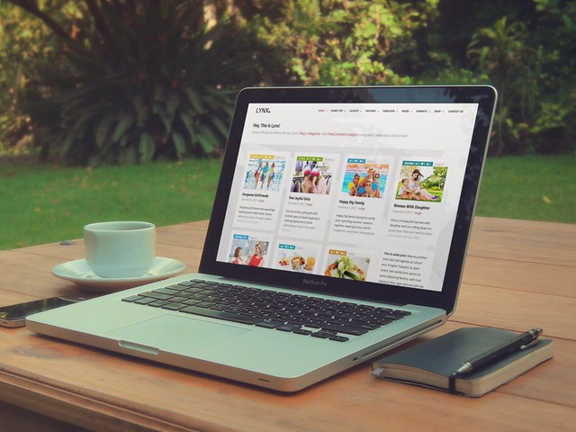Lynx - WordPress Theme - productshot
