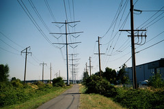 electrical supply, overhead power line, line, transmission tower, electricity,