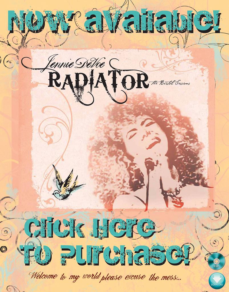 Radiator banner