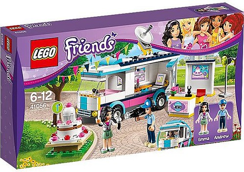 LEGO Friends Heartlake News Van (41056)