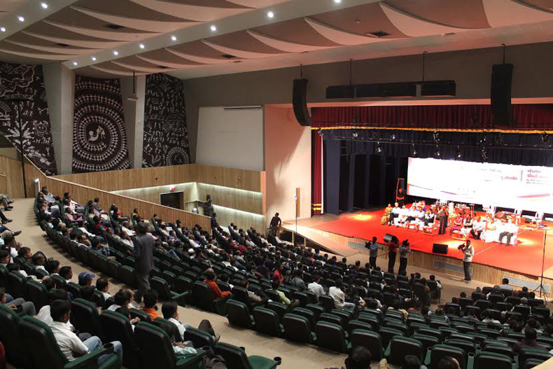 In Pictures Videos Revamped Tagore Hall Reopens Deshgujarat