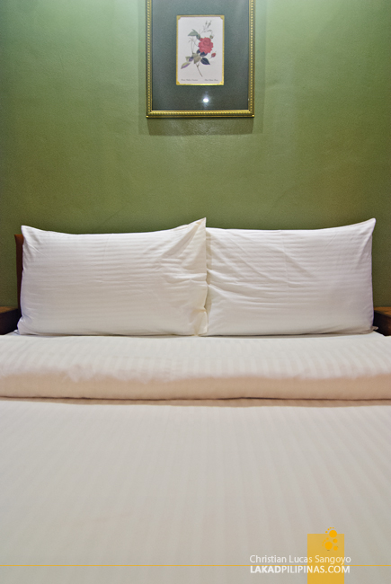 Comfy Beds at Baguio Holiday Villas and Café