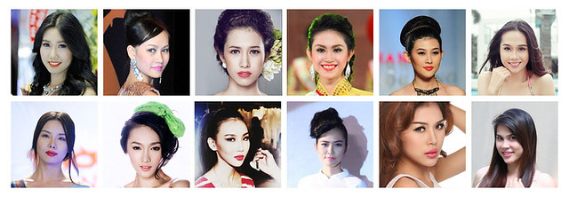 Danh sách Hoa hậu, người mẫu tham gia