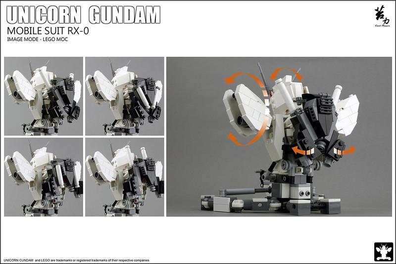 LEGO UNICORN GUNDAM 0003