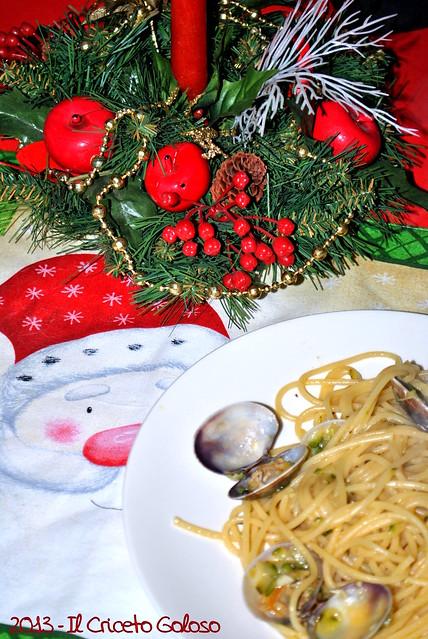 Spaghetti con vongole e zucchine (2)