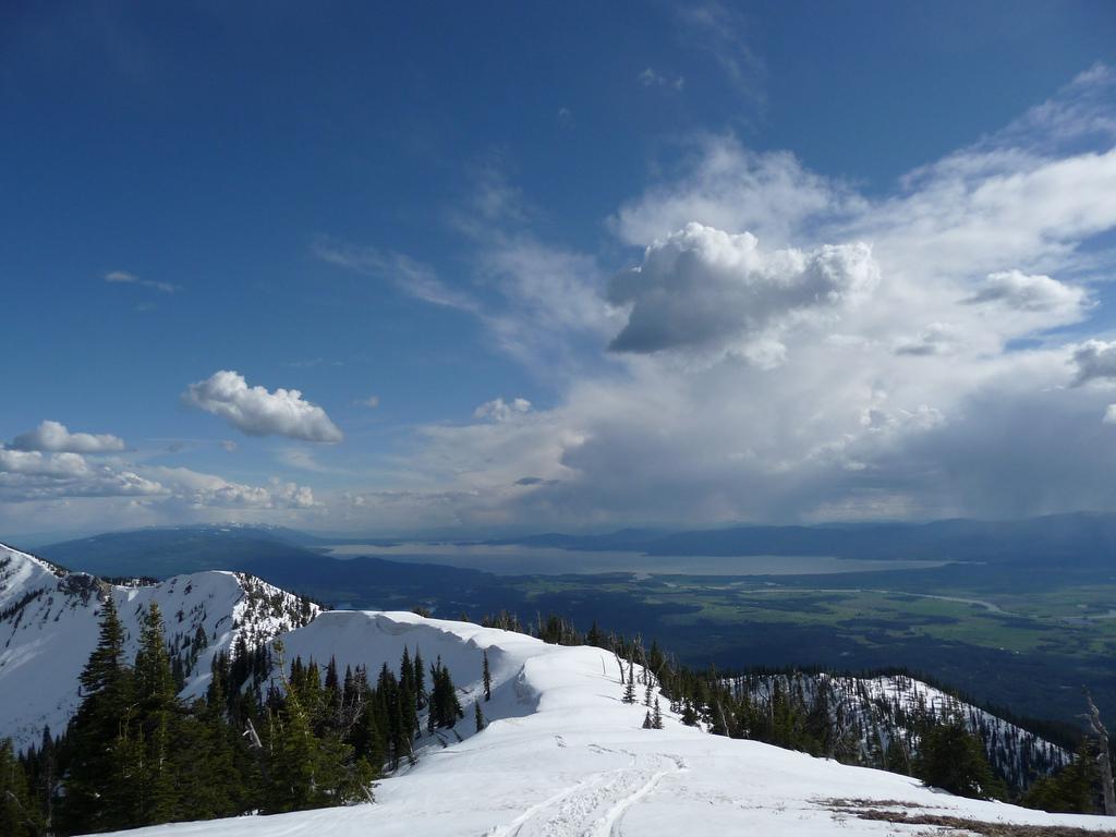 19. Lago Flathead desde Hash Mountain. Autor, Aanderingwoodssoul