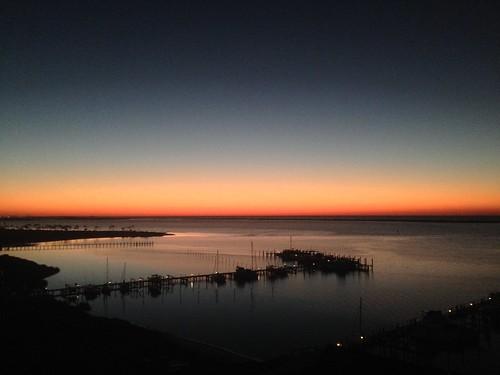 morning water sunrise key florida horizon pensacola perdido