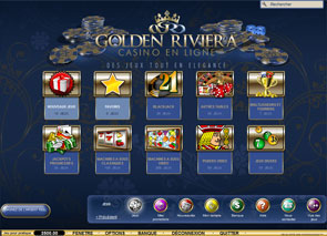 Golden Riviera Casino Lobby