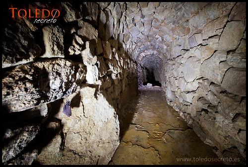 Túneles acueducto Toledo