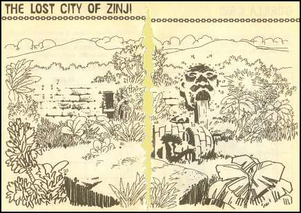 The Lost City of Zinj