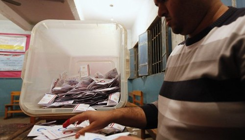 Egypt referendum on the new amended constitution was held on January 14-15, 2014. The authorities say up to 55% participated despite the boycott. by Pan-African News Wire File Photos