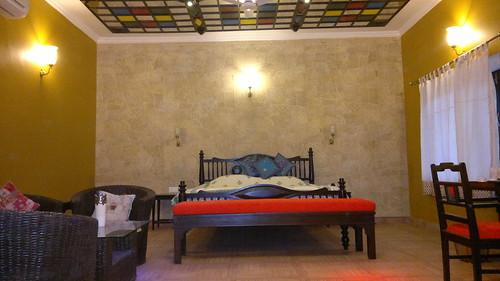 Mirror house (Shesh Mahal)