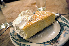 Peter Luger's NY cheesecake