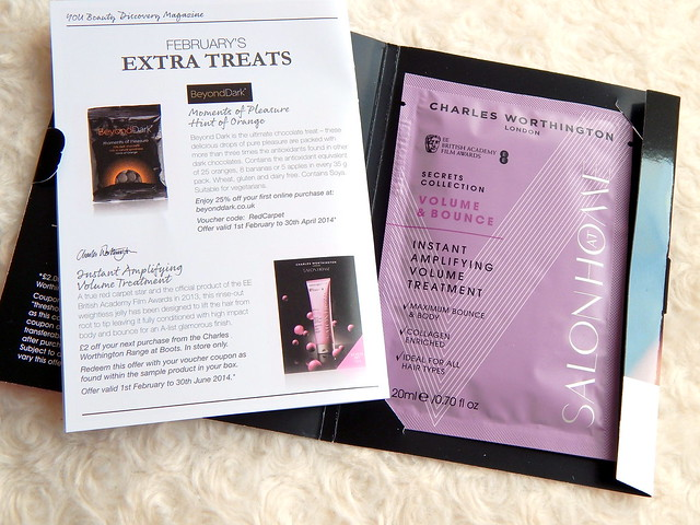 February You Beauty Discovery Box || Review Charles Worthington Hair Treatment