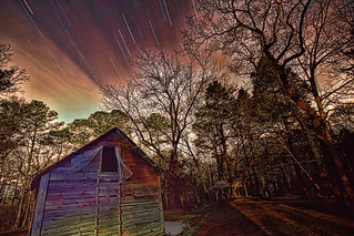 Star and Jet Trails