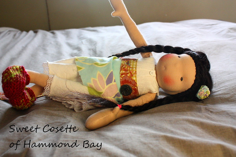 "Cosette from Hammond Bay - a 16"" free Spirit doll"