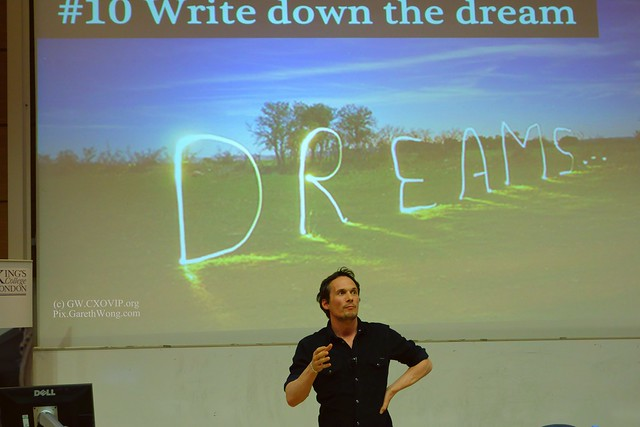 Richard Reed Founder of Innocent Smoothies on dreams at KCL @RichardReedInno from RAW _DSC6473