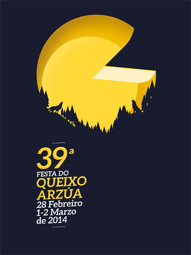 Arzúa 2014 - Festa do Queixo - cartel
