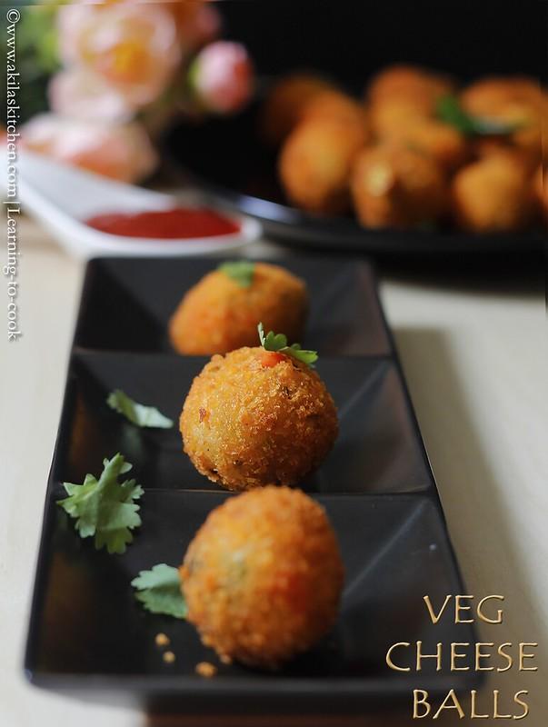 veg cheese balls