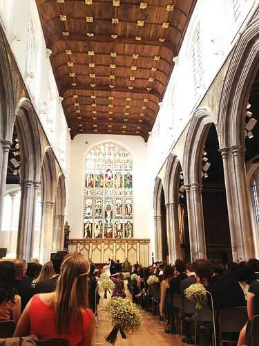 Wedding, St. Andrew Undershaft, St. Mary Axe, London