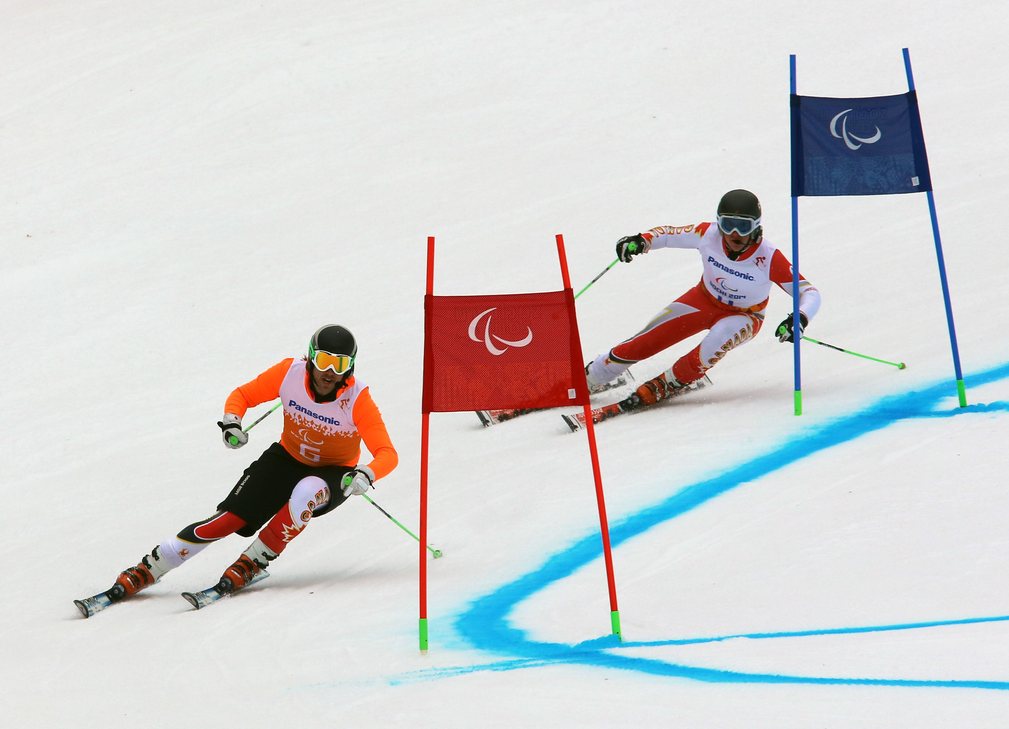 Marcoux and Femy enroute to victory in Sochi, RUS