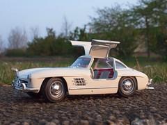 Mercedes 300 SL mit Flügeltüren