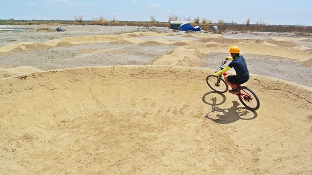 Pump Track at Sandbox Alviera in Porac, Pampanga