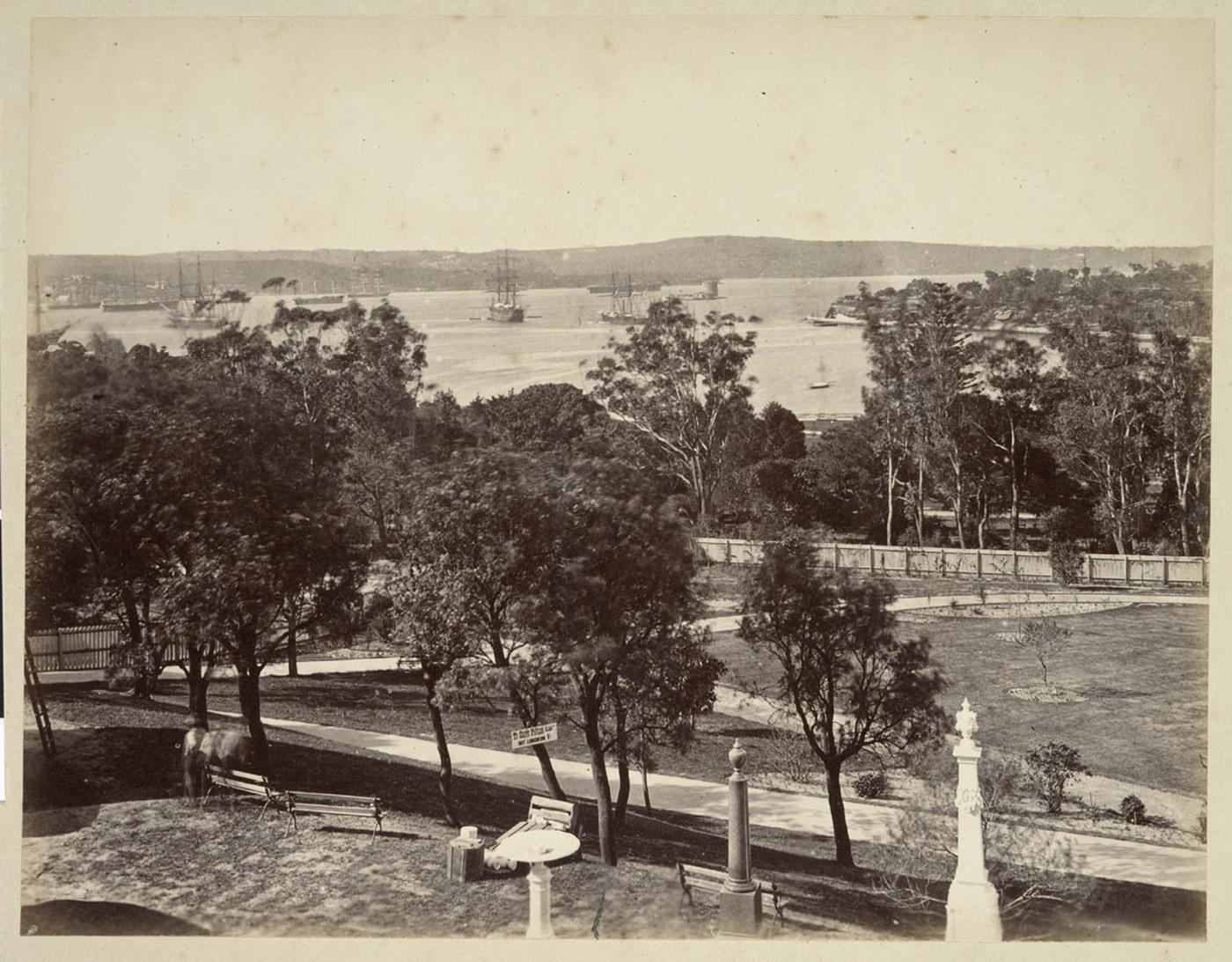Garden Palace, 1879, by Tronier Artist Photographer