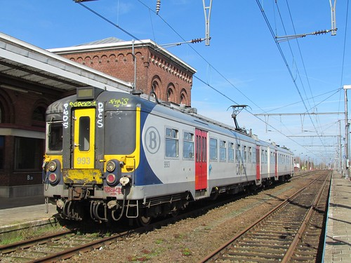 NMBS 993 at Quevy
