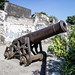 Monte Fort cannon and fortified walls Macau