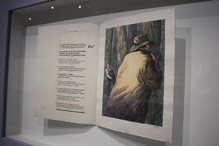 Nouvelles en trois lignes, Roland Topor, illustration du livre de Félix Fénéon, Sauret, 1975 - Exposition Topor à la BnF