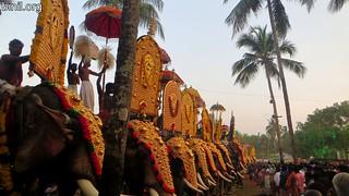 Thrissur Kechery Sree Parappukkavu Bhagavathi Temple Pooram 4