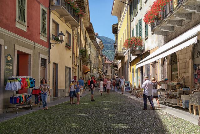 Street of Cannobio