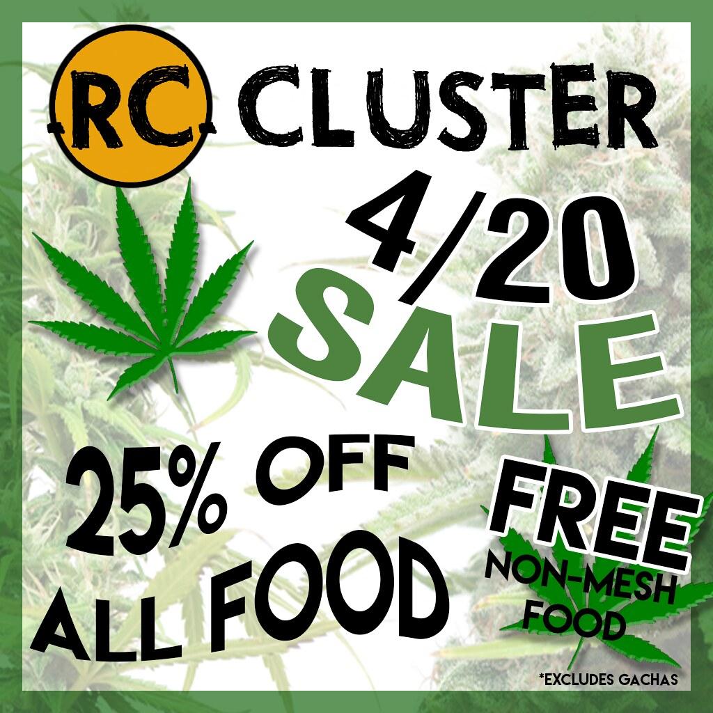 -RC- Cluster 4/20 Sale! - SecondLifeHub.com