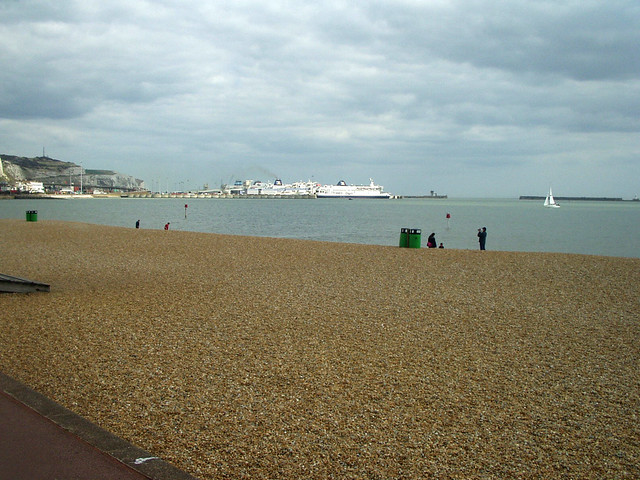 The beach at Dover