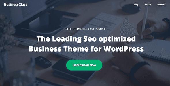 Business Class WordPress Theme free download