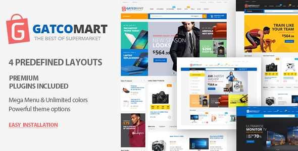 Gatcomart WordPress Theme free download