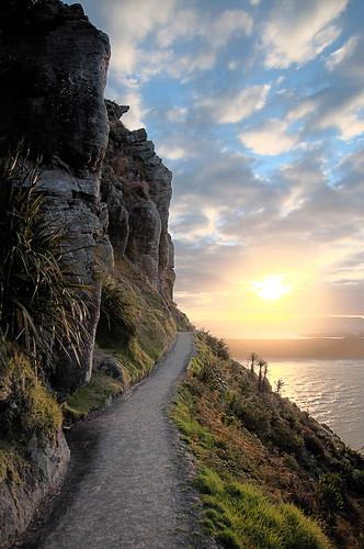 walkingtrack sunset mountmaunganui new zealand newzealand
