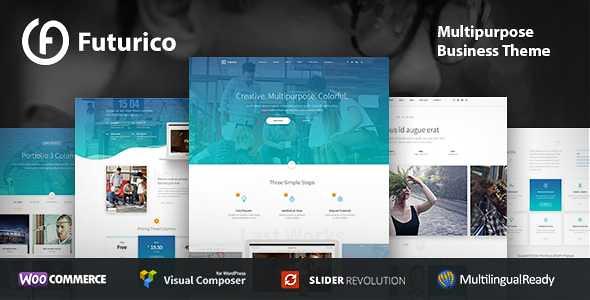 Futurico WordPress Theme free download