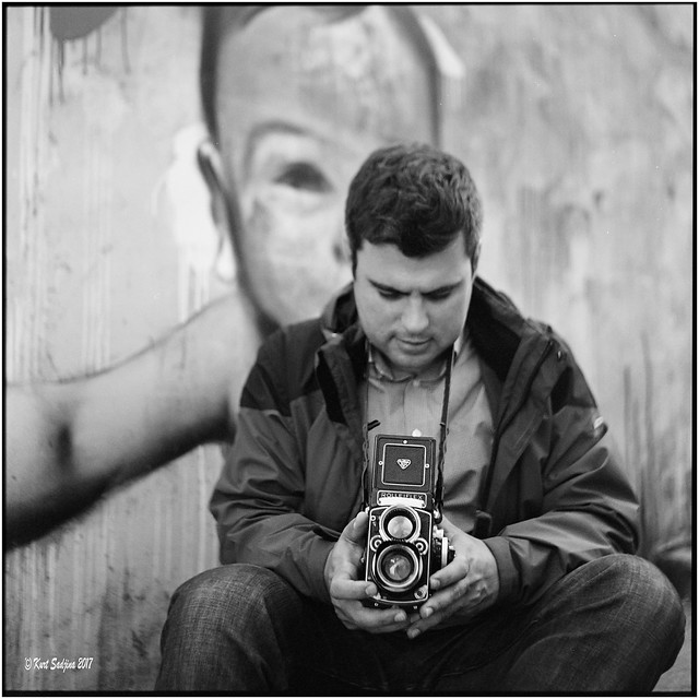 Domagoj and his most loved toy_Rolleiflex 3.5B
