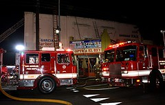 Apartment Fire Stopped From Consuming Building