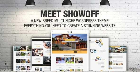 Showoff WordPress Theme free download