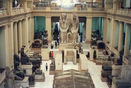 EGYPTE-1995 / Musée du Caire
