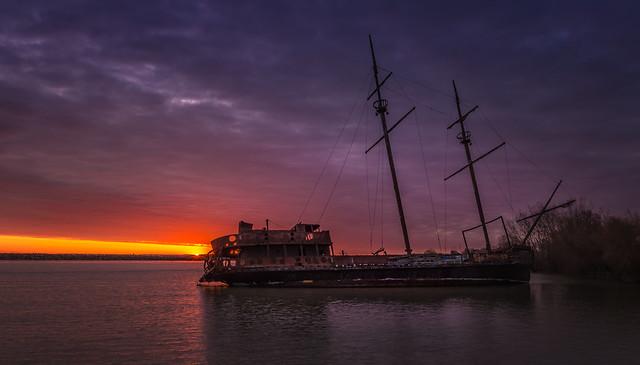 Sunrise Shipwreck