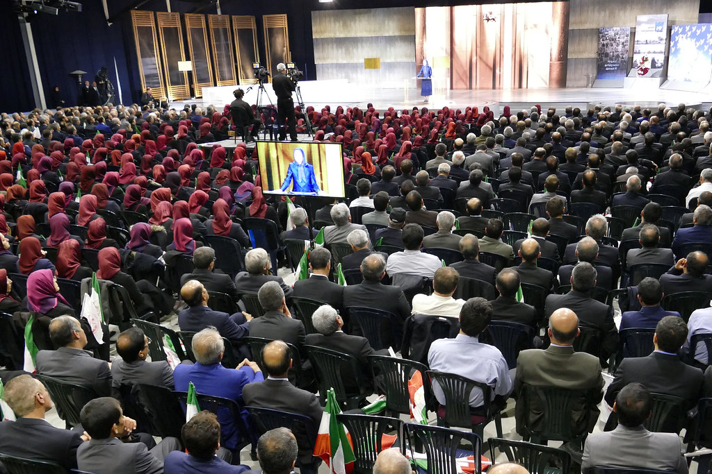 Maryam Rajavi and former residents of Ashraf commemorate their epic battle on April 8, 2011-3