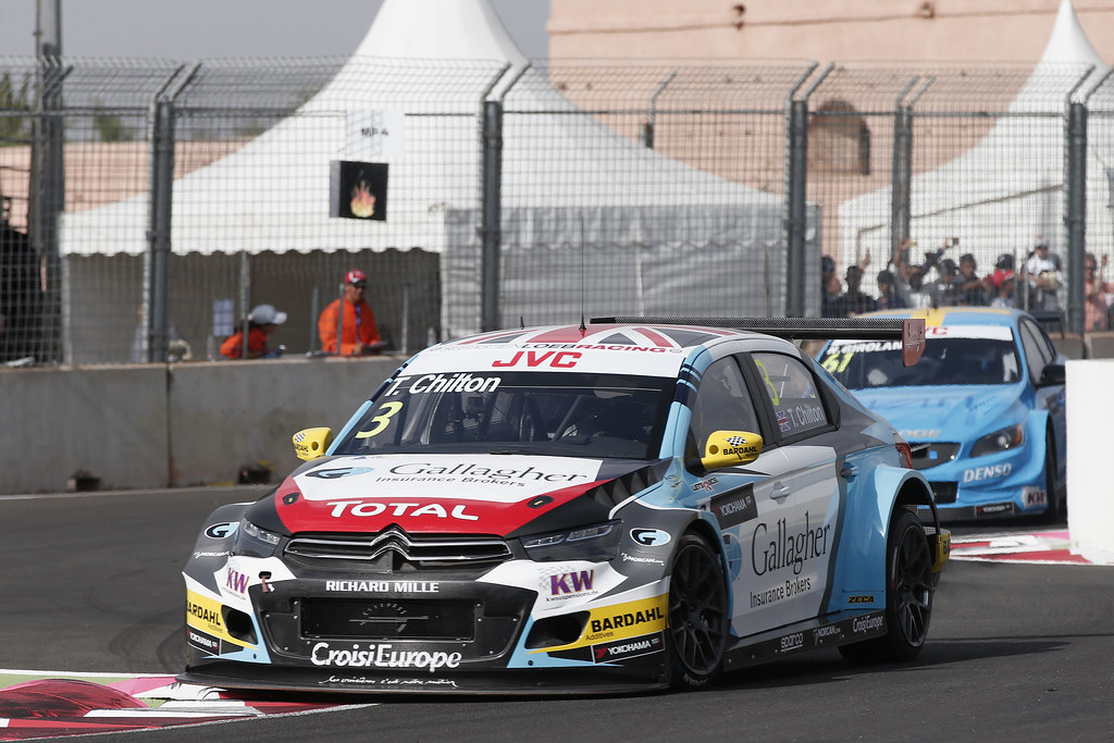 03 CHILTON Tom (GBR) Citroen C-Elysee team Sébastien Loeb Racing action during the 2017 FIA WTCC World Touring Car Race of Morocco at Marrakech, from April 7 to 9 - Photo Jean Michel Le Meur / DPPI.