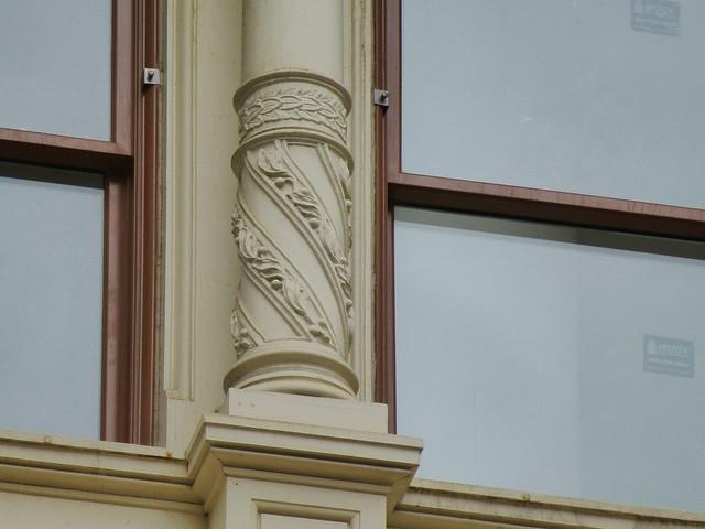 New York, NY cast iron details