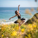 Fine Art California Wildflower Superbloom Ballet Photography: Nikon D810 Elliot McGucken Fine Art Ballerina Dancer Dancing Classical Ballet Seascape Landscape Photography!