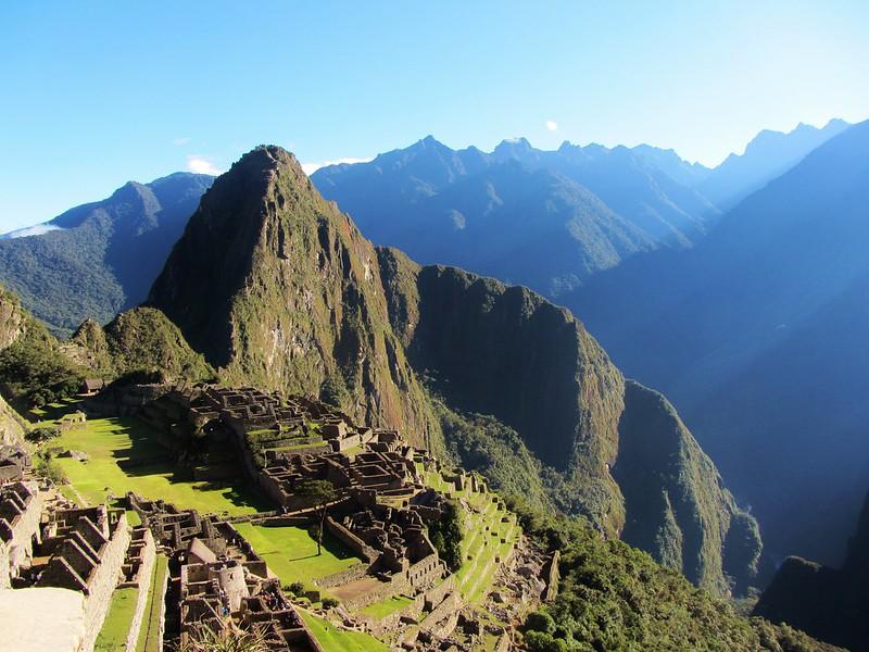 Machu Picchu in Peru - Inca Trail - tips for preventing altitude sickness