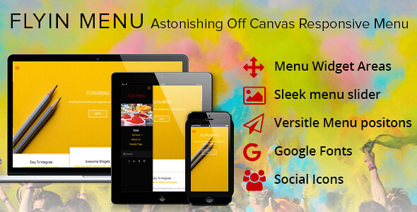 FlyIn Menu WordPress Plugin free download